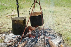 Billy tea - primitive Hot Water Kettle