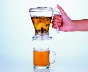 Handy Brew - lift to stop pouring