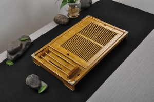Standard Bamboo Chinese Tea Tray