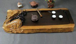 Ebony Gong Fu Tea Tray