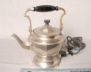 Early British style hot water kettle