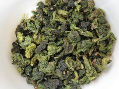 Loose leaf oolong tea