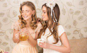 happy tea drinkers